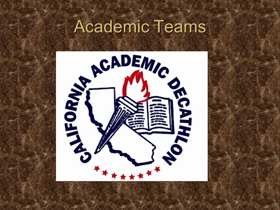 Academic Teams