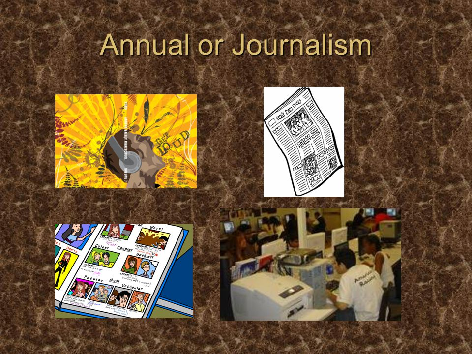 Annual or Journalism