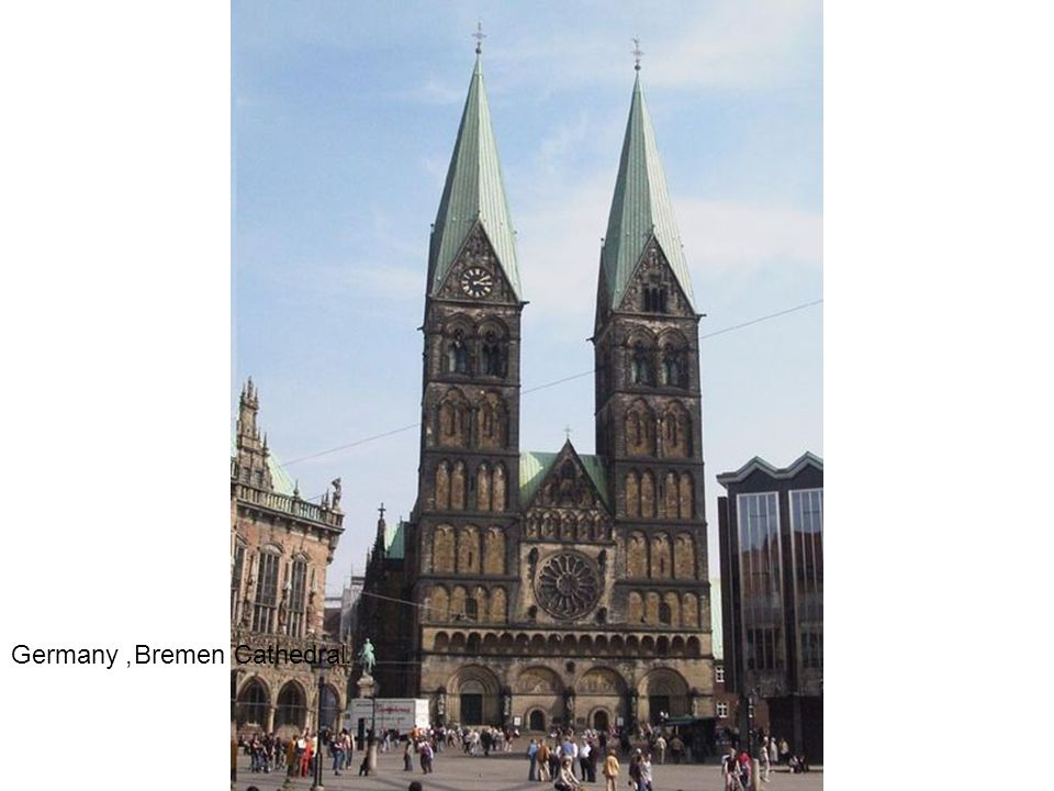 Germany, Bremen Cathedral.