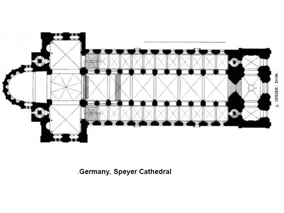 Germany, Speyer Cathedral.