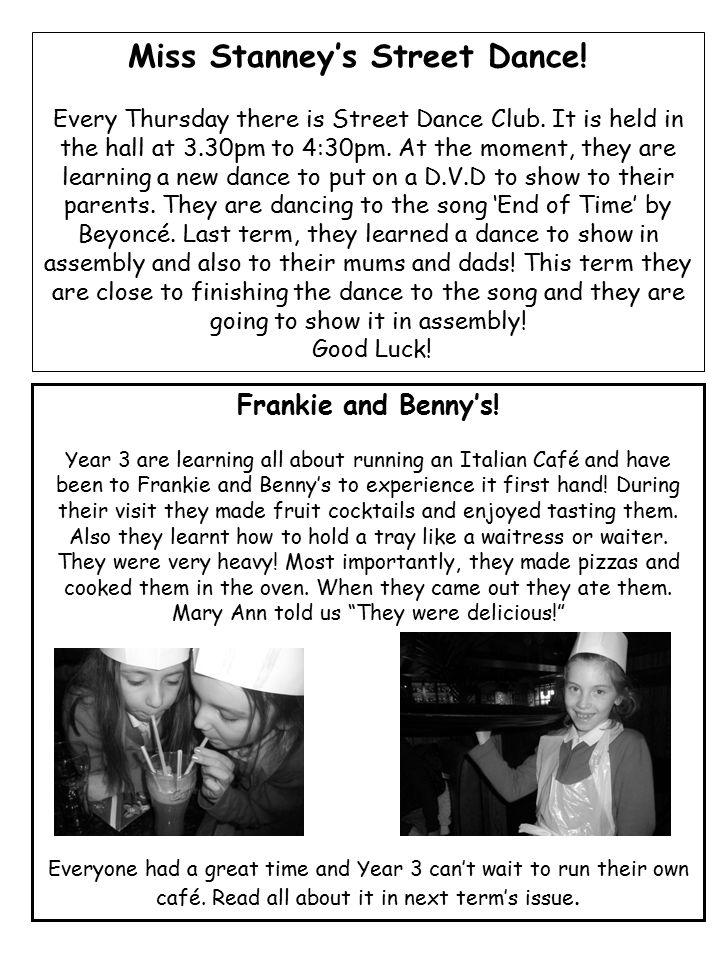 Frankie and Benny's.