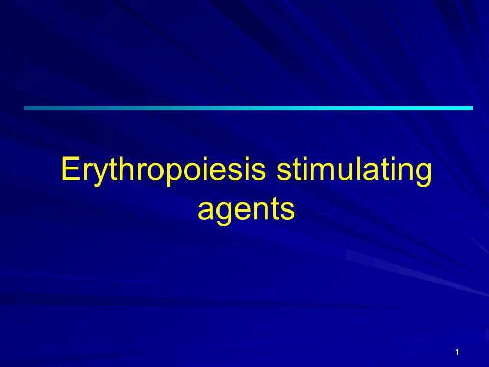 1 Erythropoiesis stimulating agents