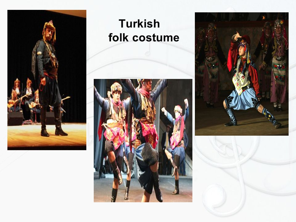 Turkish folk costume