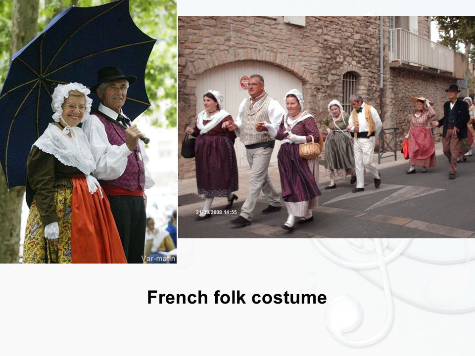 French folk costume