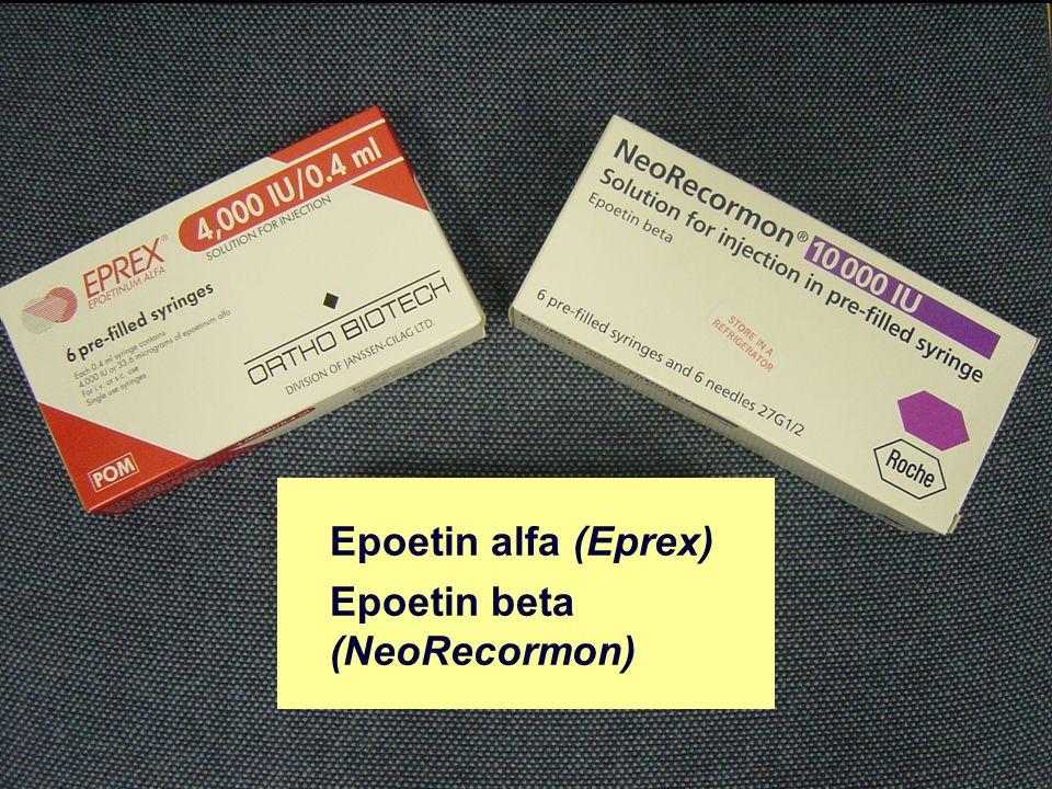 Biosimilar EPOs First biosimilar epoetins licensed in Europe – Binocrit TM (Sandoz) – Retacrit TM (Hospira)