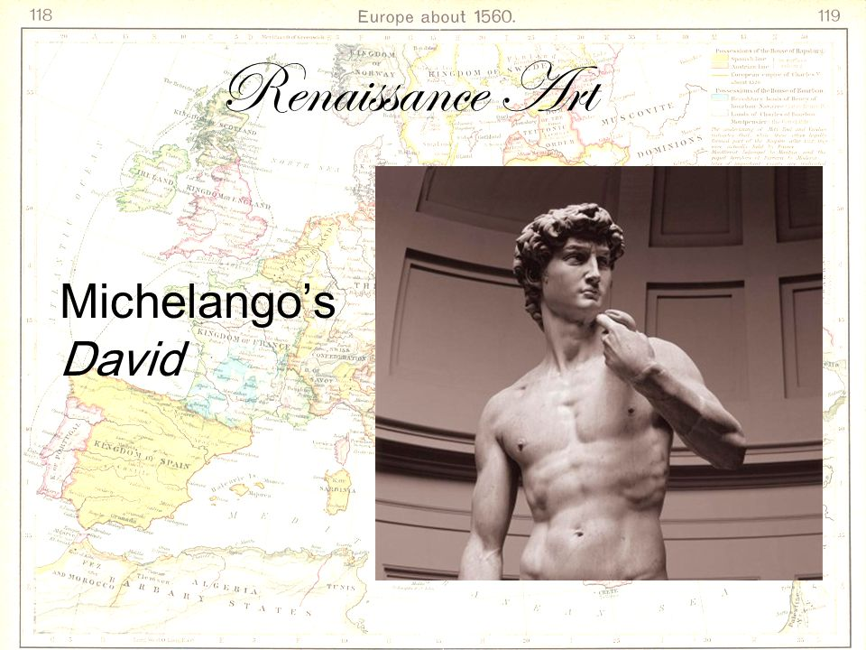 Renaissance Art Michelango's David