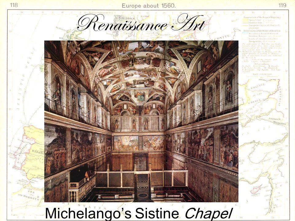 Michelango's Sistine Chapel Renaissance Art