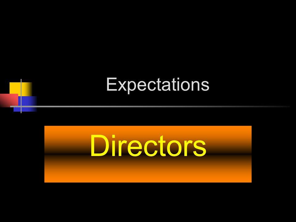 Expectations Directors