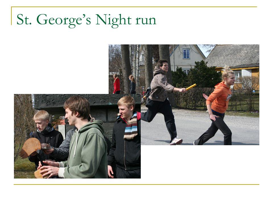 St. George's Night run