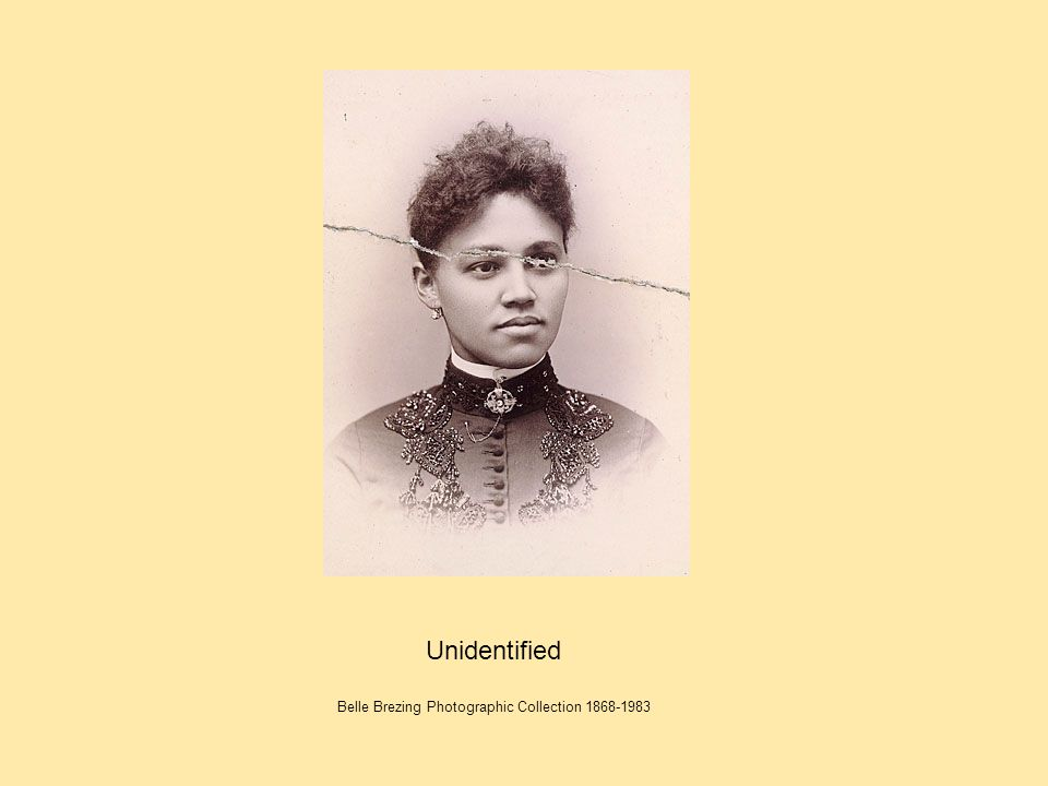 Unidentified Belle Brezing Photographic Collection 1868-1983
