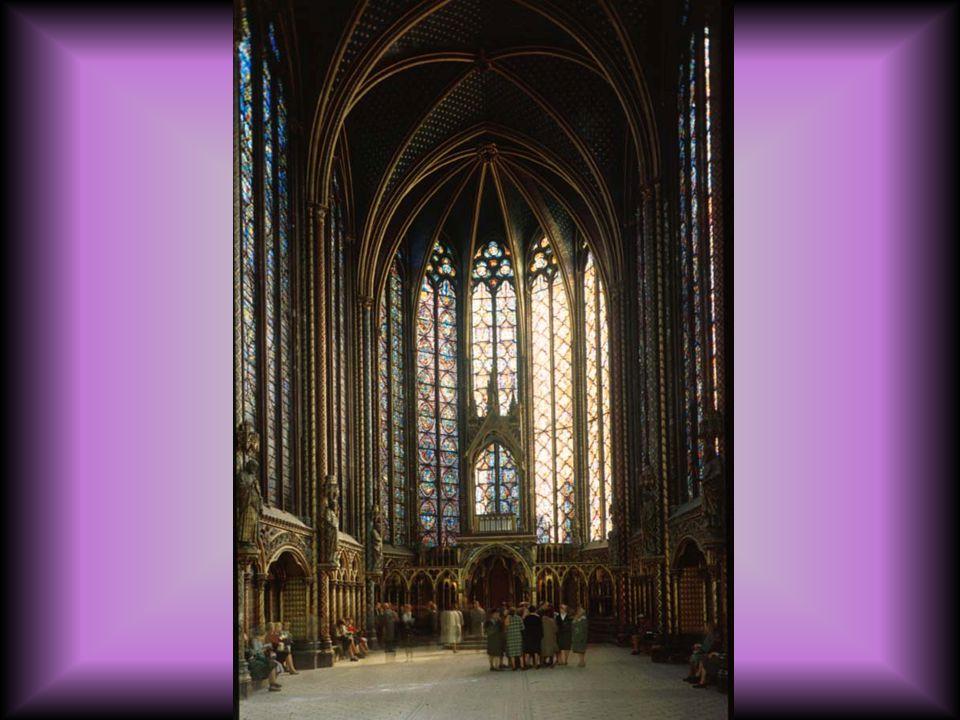 Sainte Chapelle, interior