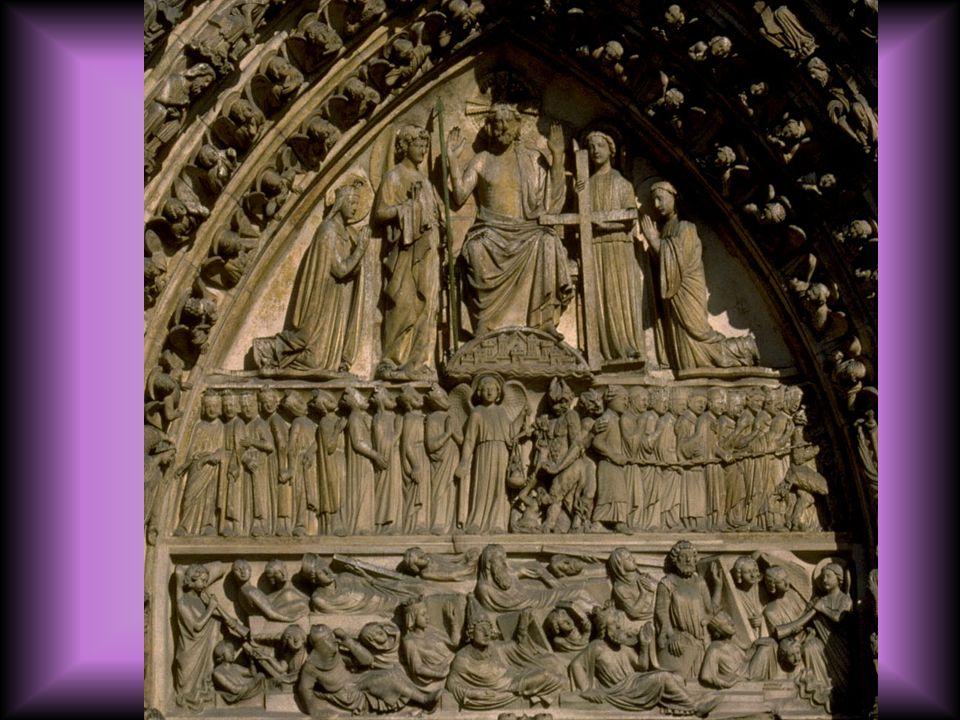 Notre Dame, portal carvings
