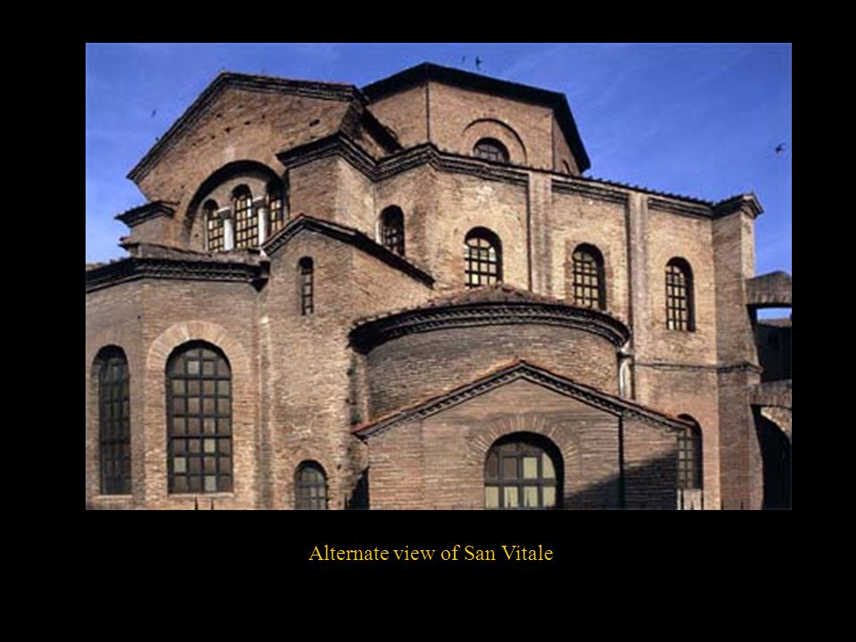 Alternate view of San Vitale