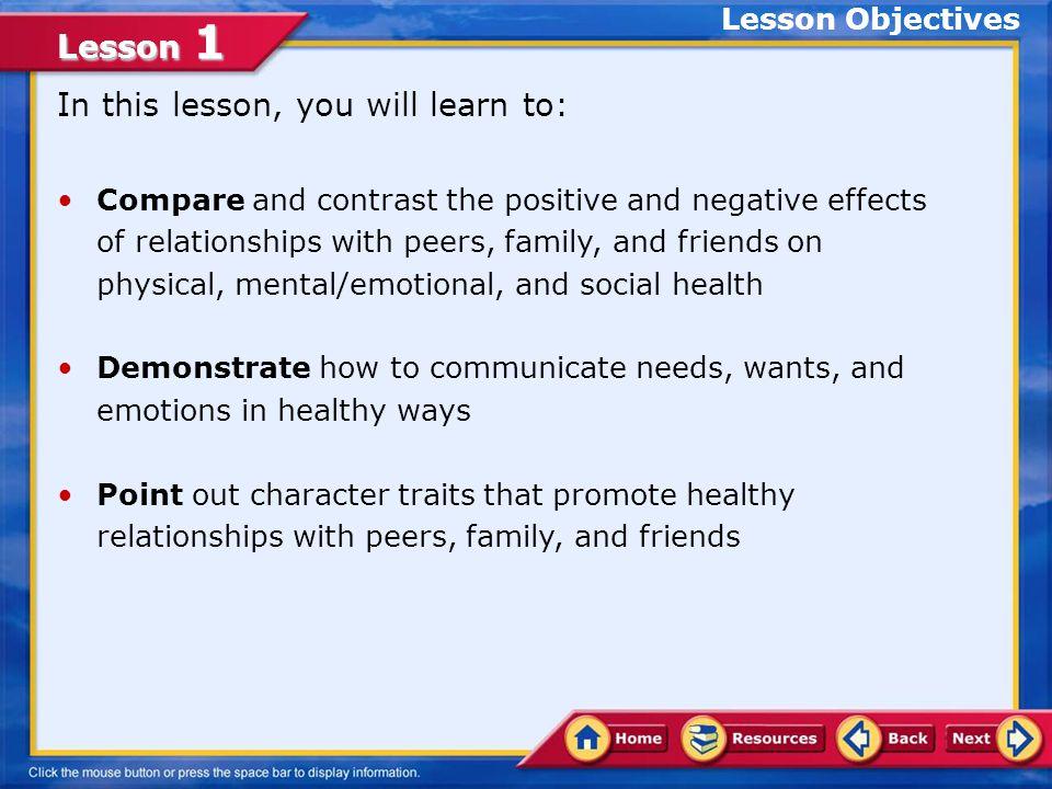 Lesson 1 A.Correct.
