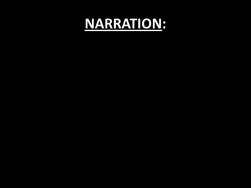 NARRATION: