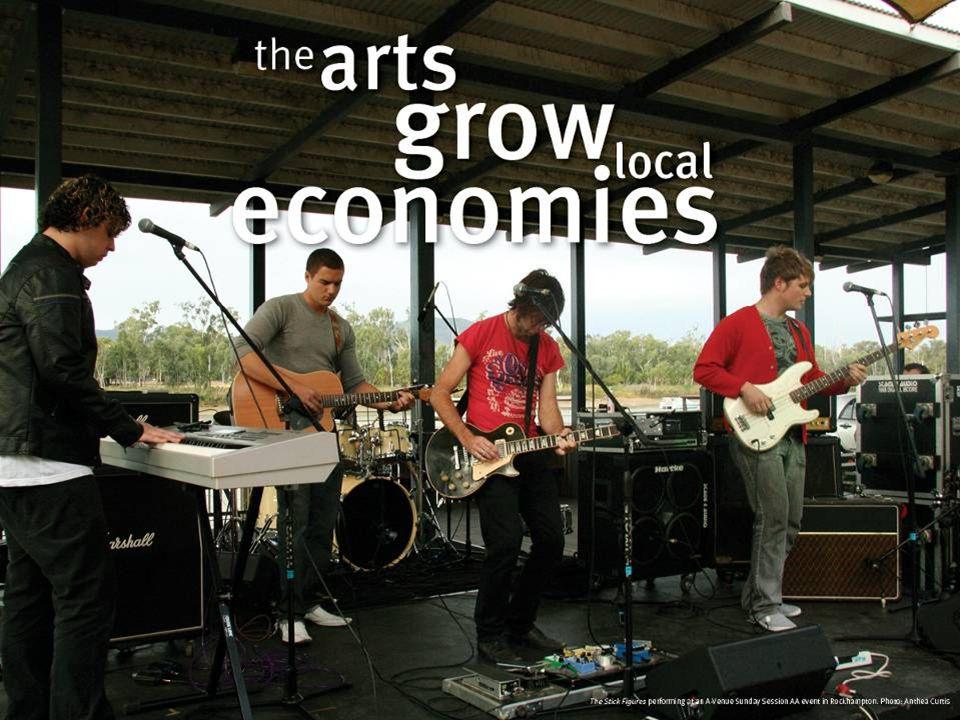 The arts grow local economies