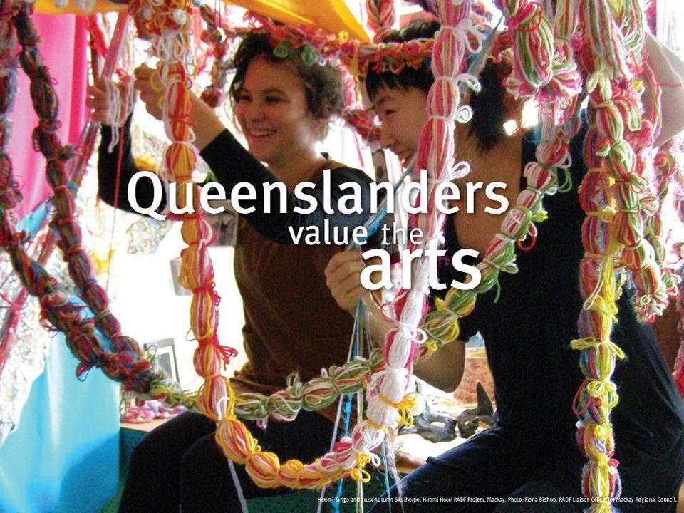Queenslanders value the arts