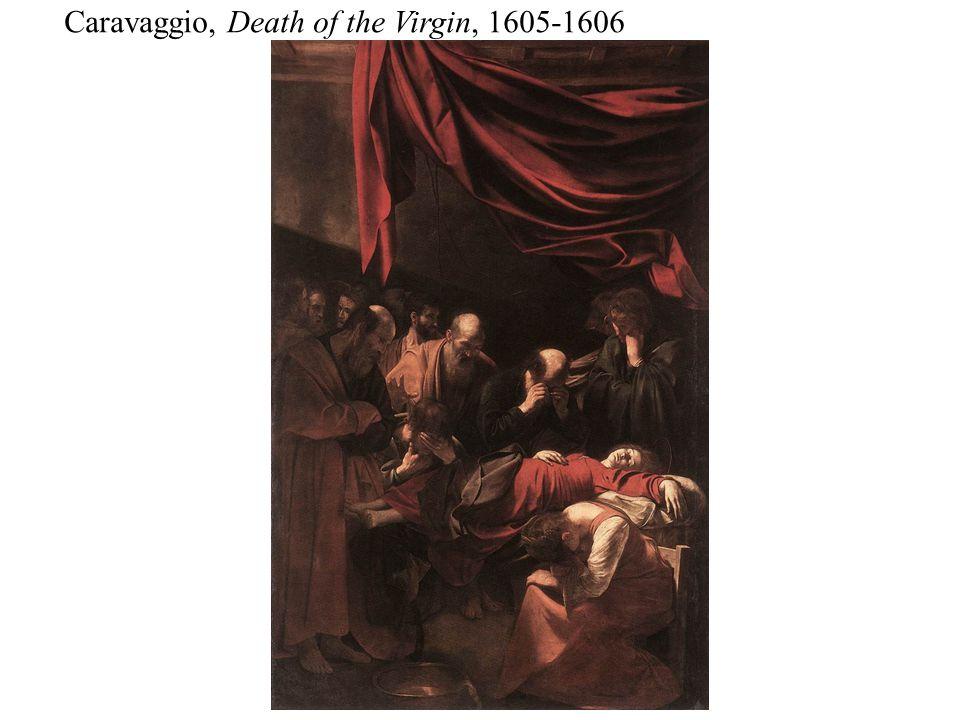 Caravaggio, Death of the Virgin, 1605-1606