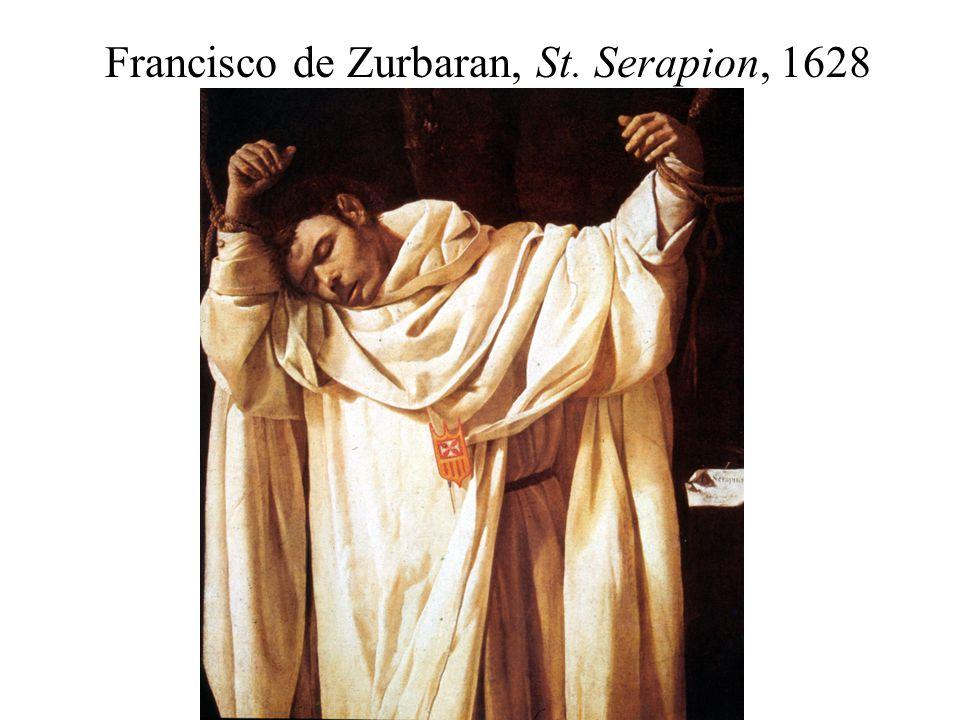 Francisco de Zurbaran, St. Serapion, 1628