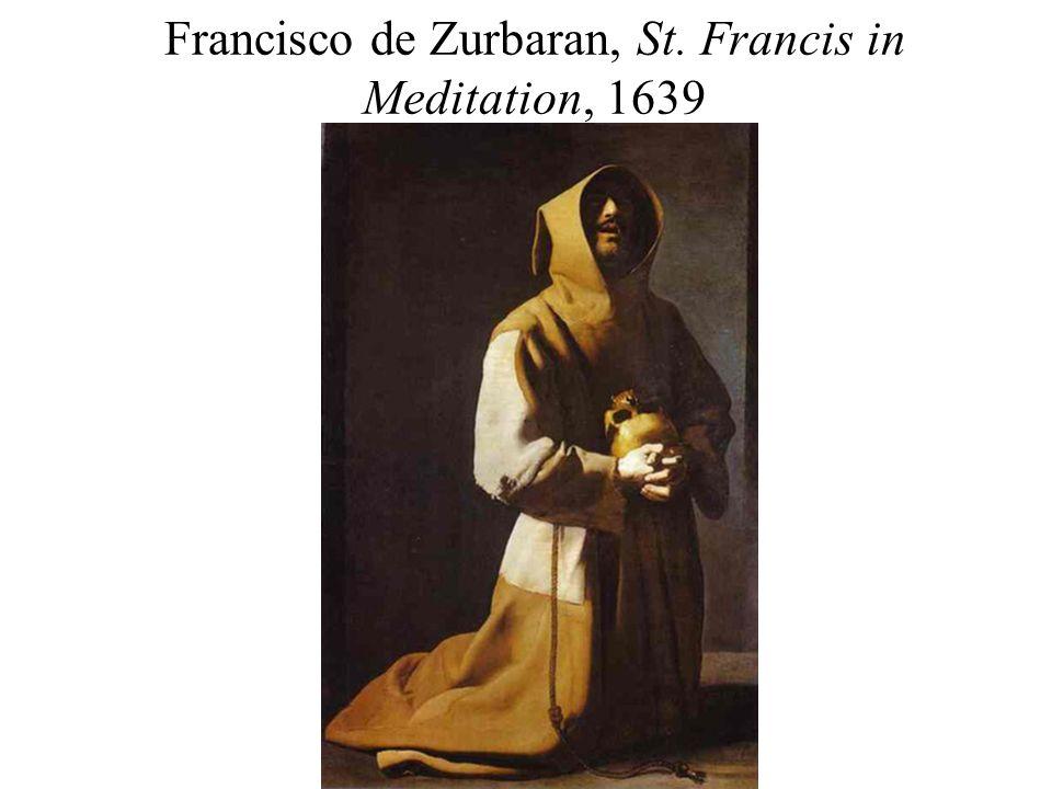 Francisco de Zurbaran, St. Francis in Meditation, 1639