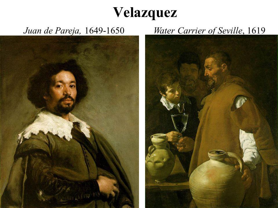Velazquez Juan de Pareja, 1649-1650Water Carrier of Seville, 1619