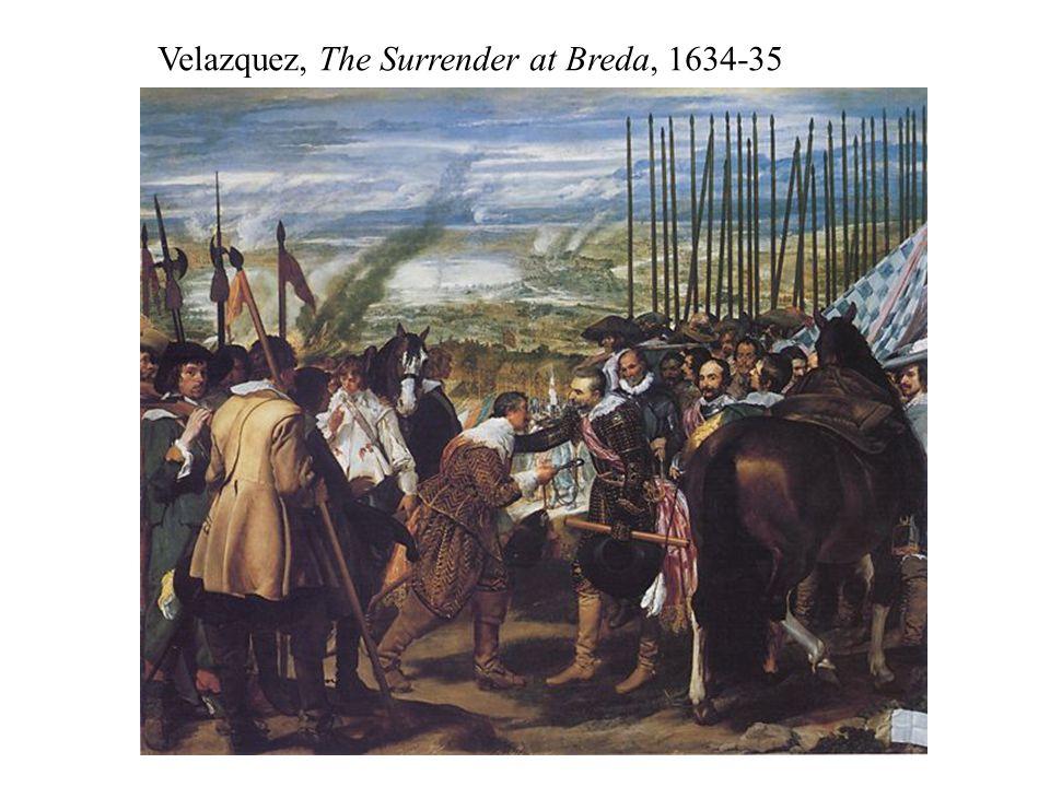 Velazquez, The Surrender at Breda, 1634-35