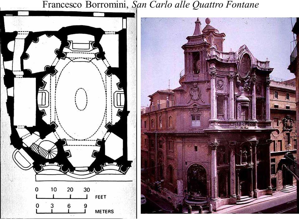 Francesco Borromini, San Carlo alle Quattro Fontane