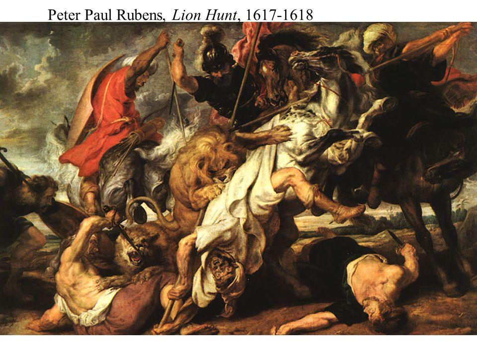 Peter Paul Rubens, Lion Hunt, 1617-1618