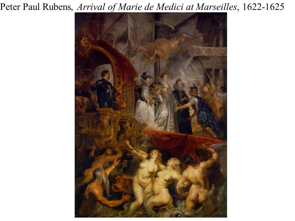 Peter Paul Rubens, Arrival of Marie de Medici at Marseilles, 1622-1625