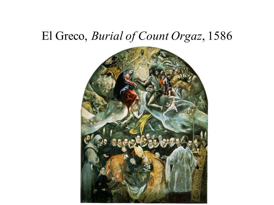 El Greco, Burial of Count Orgaz, 1586