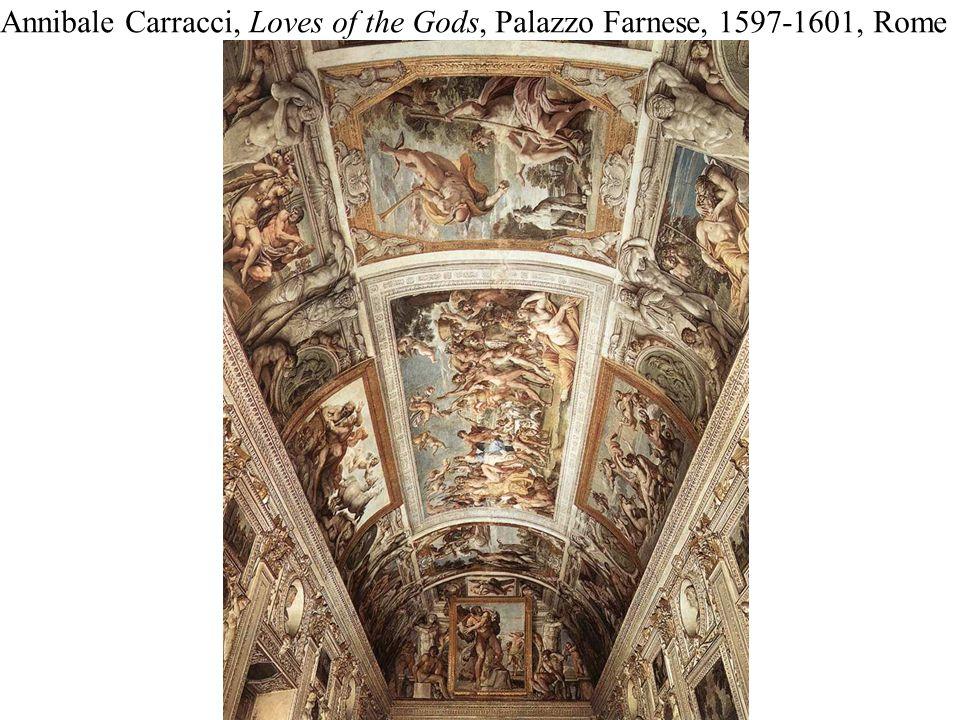 Annibale Carracci, Loves of the Gods, Palazzo Farnese, 1597-1601, Rome