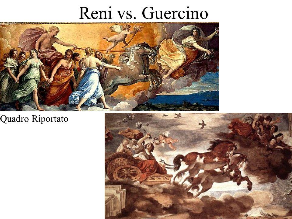 Reni vs. Guercino Quadro Riportato