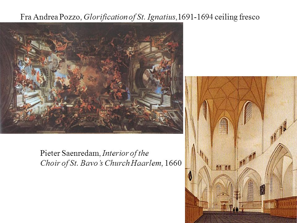 Fra Andrea Pozzo, Glorification of St.