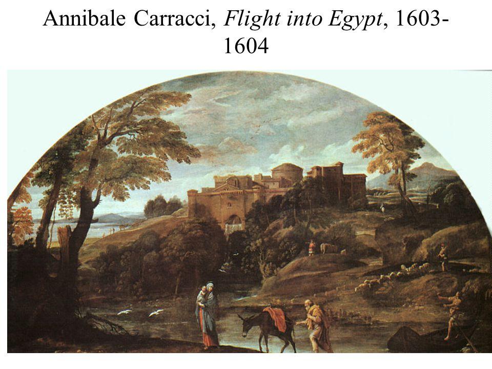 Annibale Carracci, Flight into Egypt, 1603- 1604