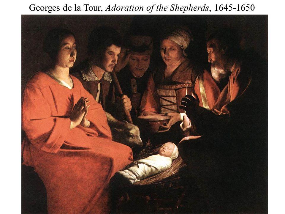 Georges de la Tour, Adoration of the Shepherds, 1645-1650