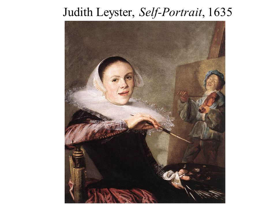 Judith Leyster, Self-Portrait, 1635