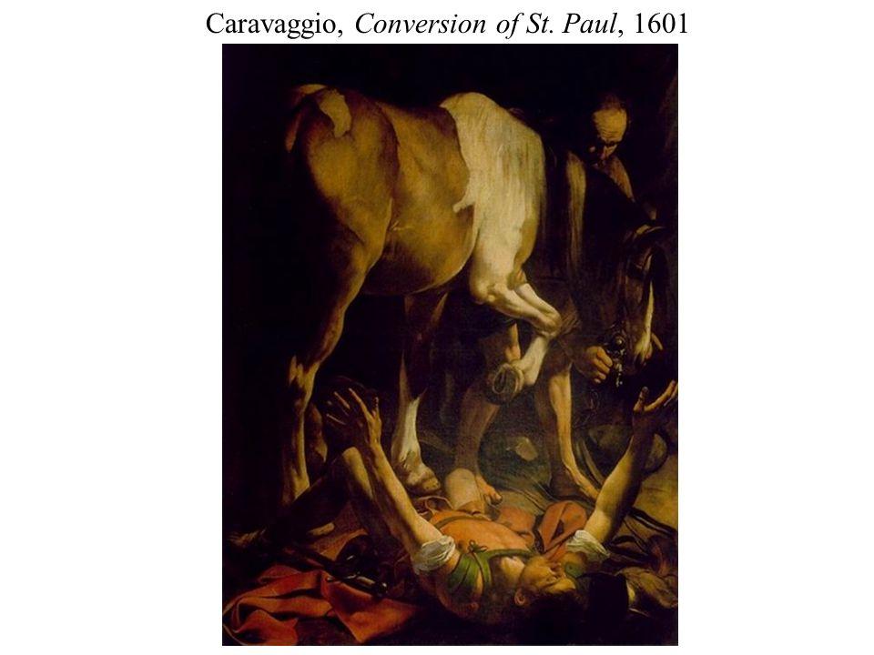 Caravaggio, Conversion of St. Paul, 1601