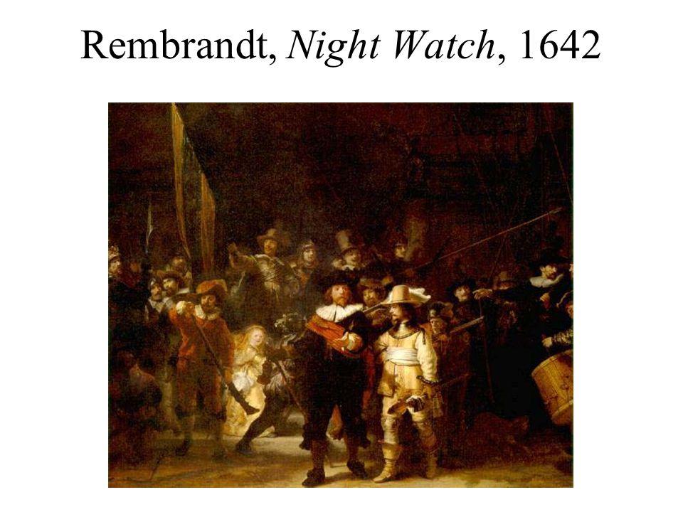 Rembrandt, Night Watch, 1642