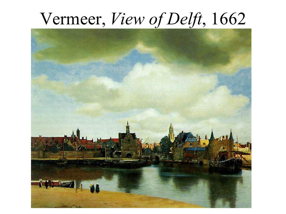 Vermeer, View of Delft, 1662