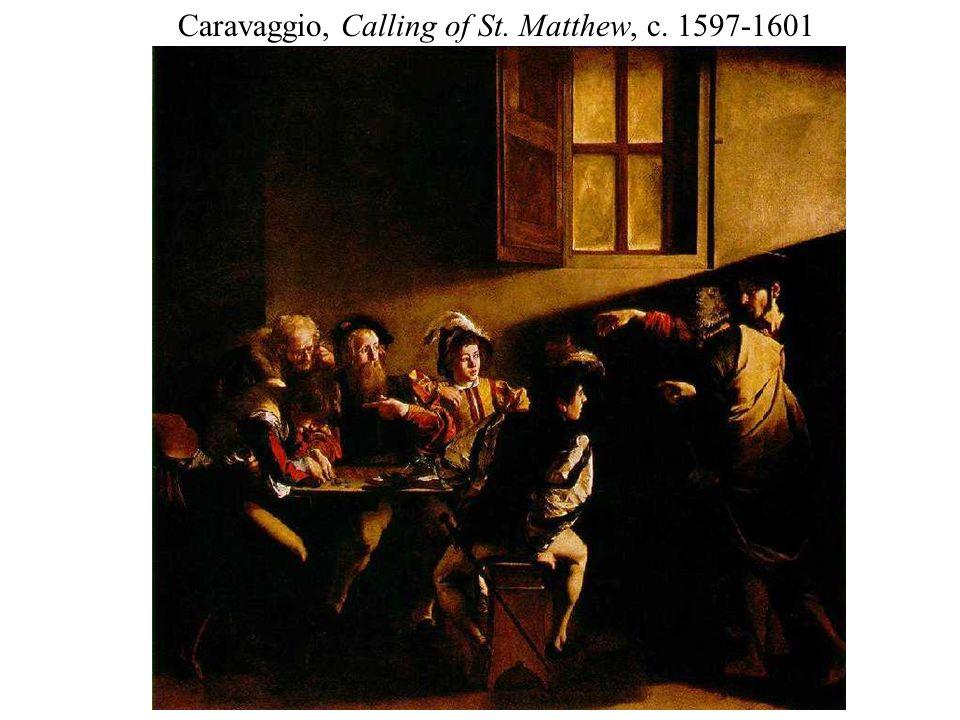 Caravaggio, Calling of St. Matthew, c. 1597-1601