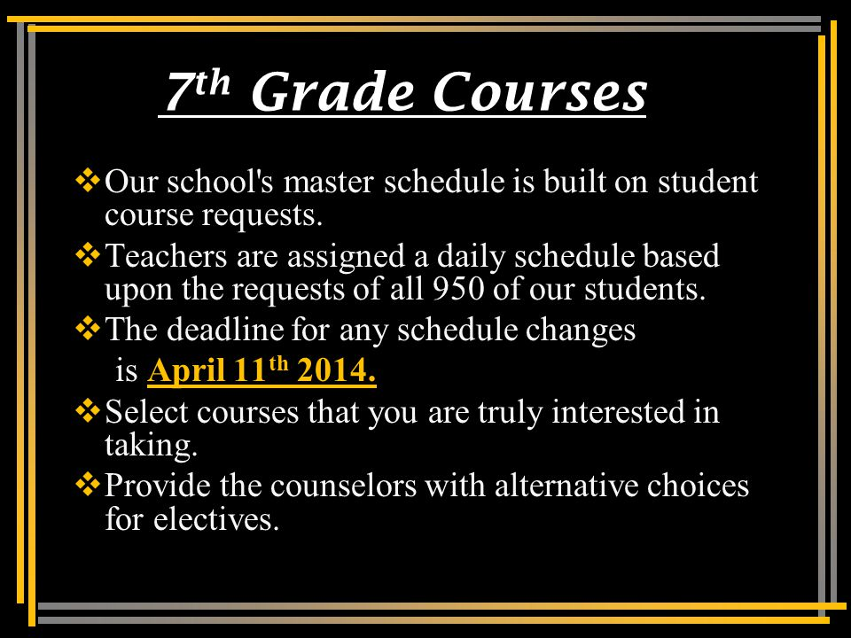Academic Courses  When selecting classes, please keep in mind the following thoughts: Pre-AP courses are RIGOROUS and INTENSE.