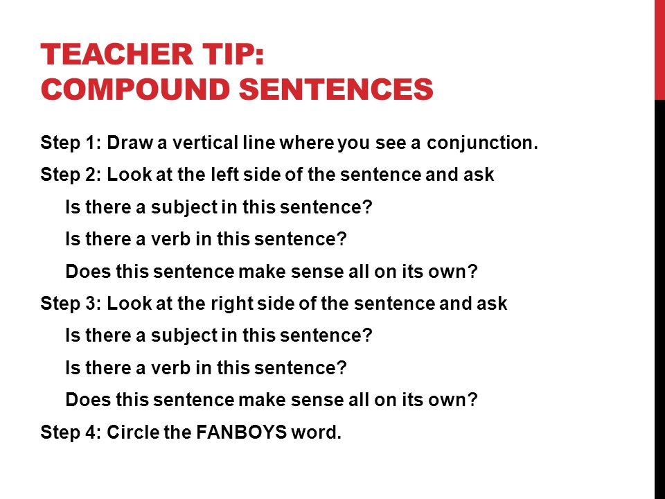 PARTNER PRACTICE 1.Circle the coordinating conjunctions (FANBOYS) word in each sentence.