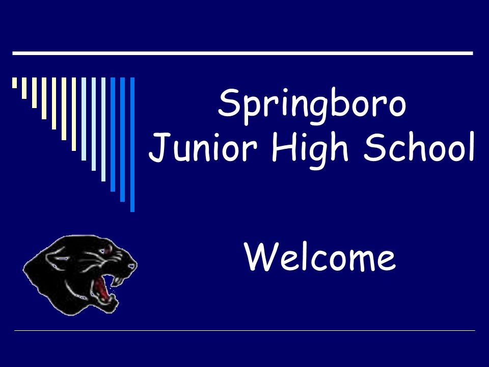 Springboro Junior High School Welcome