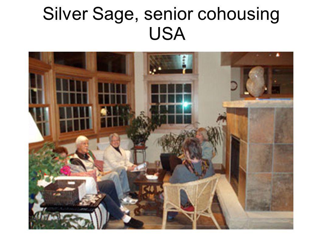 Silver Sage, senior cohousing USA