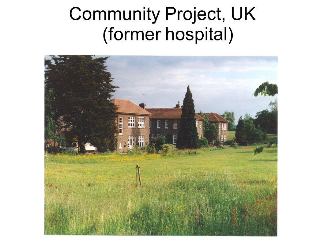 Community Project, UK (former hospital)