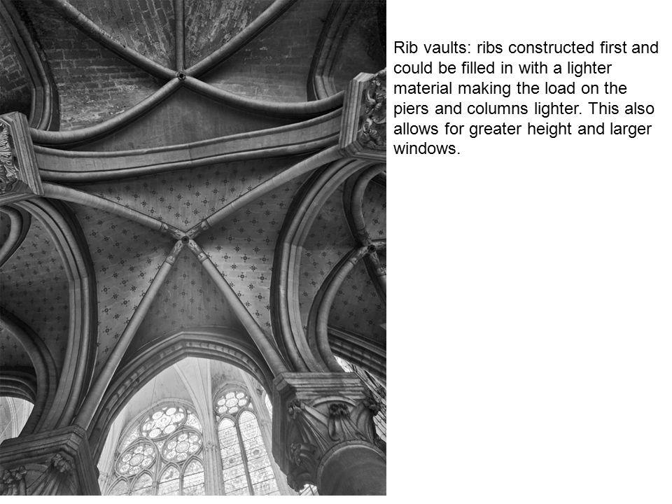 Arrangement of chapels is a formal echo of the ambulatory.