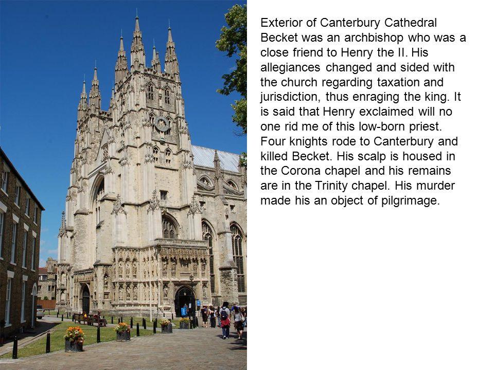 Plan of Canterbury