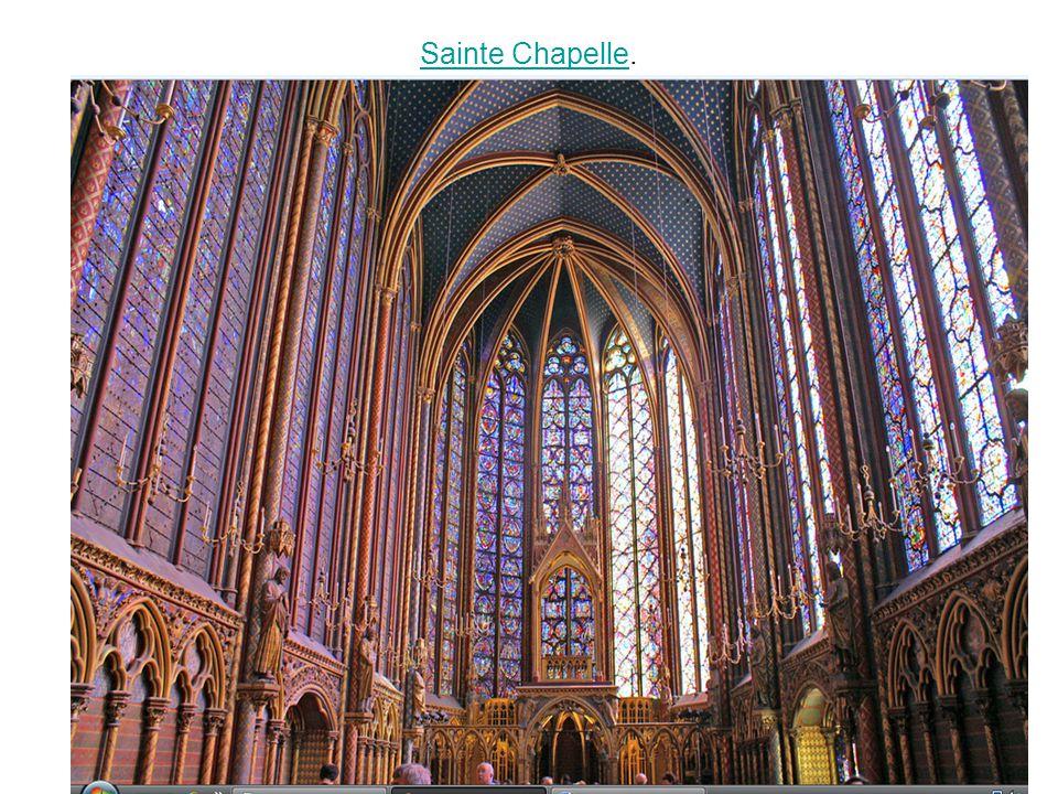Sainte ChapelleSainte Chapelle.
