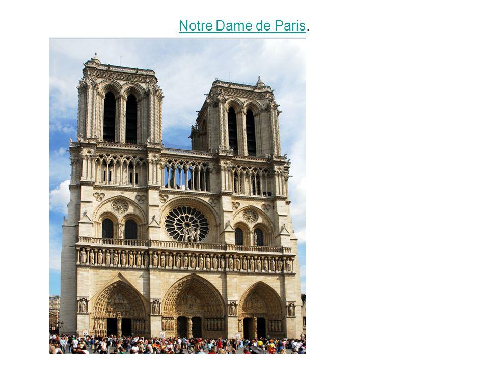 Notre Dame de ParisNotre Dame de Paris.