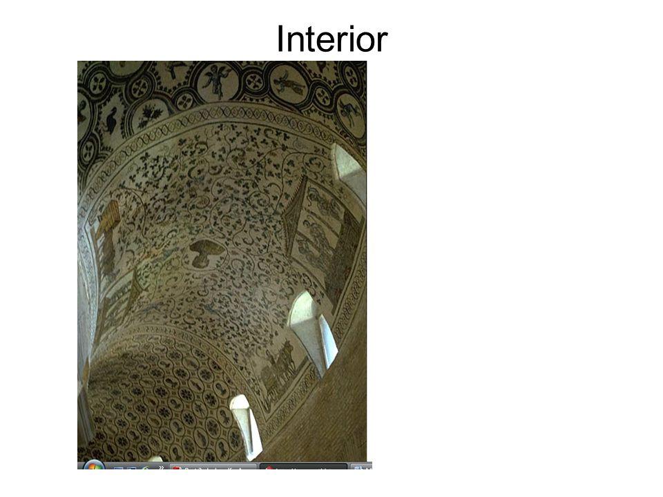 Santa Sabina: interior, nave, view from west, begun ca. 422-432 A.D. Rome